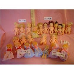 23 Tiny Dolls Baby PeeWee Uneeda MT