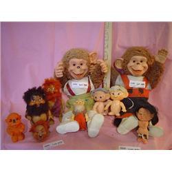 Dolls Monkeys Cavemen Horsman Dolls MT