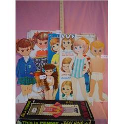 Vintage Paper Dolls Whitman Magic Wand