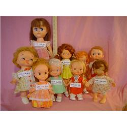 9 Dolls Playmates Camay Montana