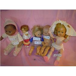 Dolls stuffed skin Vogue Jointed Africa