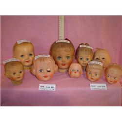 Doll Heads Eegee ARP MRP Montana