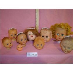 Doll Heads AE554 Ideal Japan MT