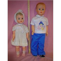 2 Dolls Uneeda AE 30533 Montana