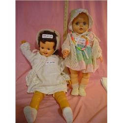2 Big Dolls Uneeda Ideal Doll Montana