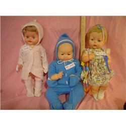 3 Bigger Dolls Horsman Doll 1951 MT