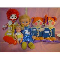 Dolls Ronald McDonald Mrs Beasley Dress