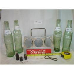 Aluminum 6 pack Coca-Cola Holder w/ oth