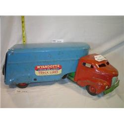 Metal Products Co. Vintage Toy Truck