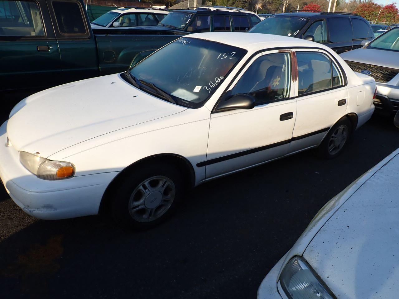 1998 chevrolet prizm speeds auto auctions speeds auto auctions