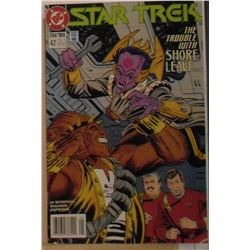 Printed in Canada DC Comics Star Trek #42 January 1993 - bande dessinée