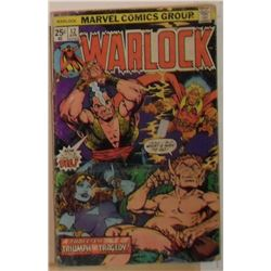 Marvel Comics Warlock Volume 1 #12 April 1976 - bande dessinée