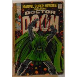 rare Marvel Comics Doctor Doom Volume 1 #20 May 1969 55 pages - bande dessinée rare