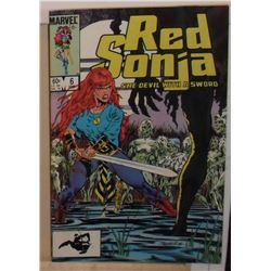 Red Sonja Volume 3 #6 February 1985 Marvel Comics - bande dessinée