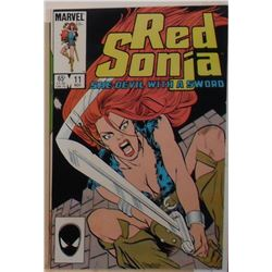 54A Red Sonja Volume 3 #11 November 1985 Marvel Comics - bande dessinée