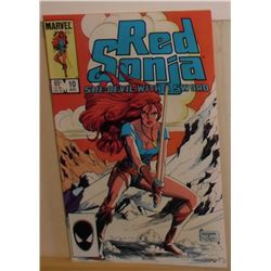 55A Red Sonja Volume 3 #10 August 1985 Marvel Comics - bande dessinée