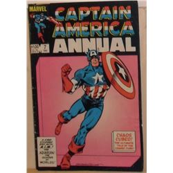 Marvel Comics Captain America Annual #7 1983 40+ pages - bande dessinée