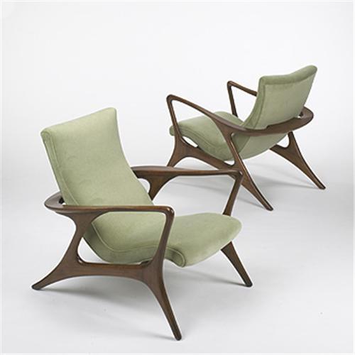 Pleasing Vladimir Kagan Contour Lounge Chairs Creativecarmelina Interior Chair Design Creativecarmelinacom