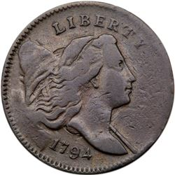 1794 C-4a R3 Small Edge Letters. PCGS VF30
