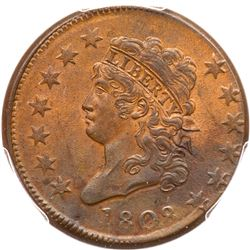 1808 S-278 R3 PCGS graded MS63 Brown