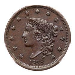 1838 N-14 R4 PCGS graded XF45