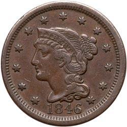 1846 N-23 R5+ Tall Date VF30