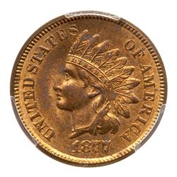 1877 Indian Head Cent. PCGS MS64