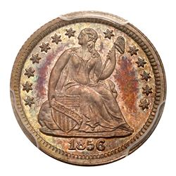 1856 Liberty Seated Half Dime. PCGS PF66