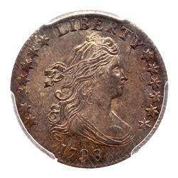 1798 Draped Bust Dime. PCGS MS64