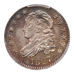 1827 Capped Bust Dime. PCGS MS62