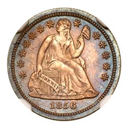 1856 Liberty Seated Dime. NGC PF66