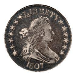 1807 Draped Bust Half Dollar. ANACS EF40