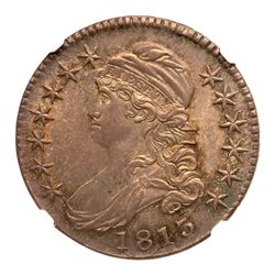 1813 Capped Bust Half Dollar. NGC MS65