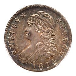 1814 Capped Bust Half Dollar. PCGS MS65