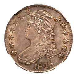 1826 Capped Bust Half Dollar. NGC MS65