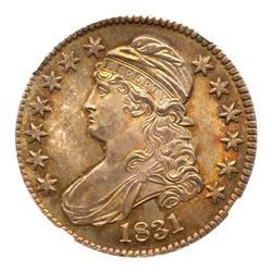 1831 Capped Bust Half Dollar. NGC MS66