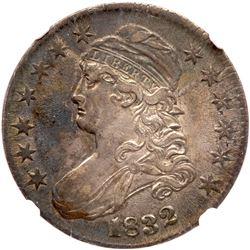1832 Capped Bust Half Dollar. NGC EF45