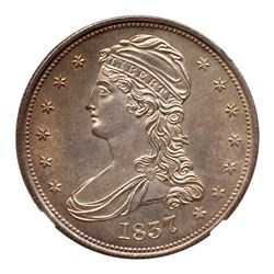 1837 Capped Bust Half Dollar. NGC MS66