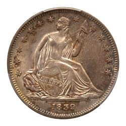 1839 Liberty Seated Half Dollar. No drapery. PCGS MS64