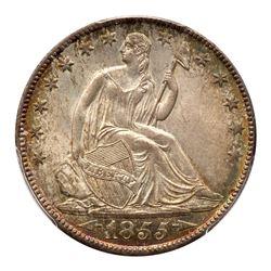 1855-O Liberty Seated Half Dollar. Arrows. PCGS MS66