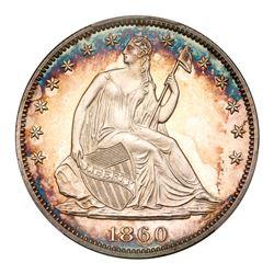 1860 Liberty Seated Half Dollar. PCGS PF66