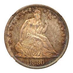 1880 Liberty Seated Half Dollar. NGC MS67