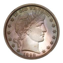 1898 Barber Half Dollar. NGC PF68