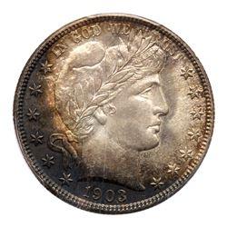 1903-O Barber Half Dollar. PCGS MS66