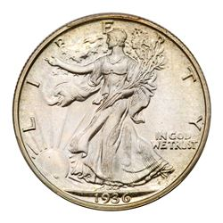 1936 Liberty Walking Half Dollar. PCGS PF67