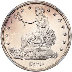 1880 Trade Dollar. NGC PF65