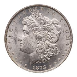 1878 Morgan Dollar. 8 tail feathers. PCGS MS63