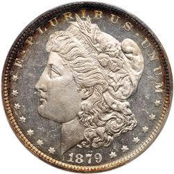 1879 Morgan Dollar. PCGS MS65
