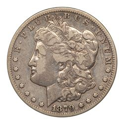 1879-CC Morgan Dollar. Numistrust F12