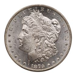 1879-S Morgan Dollar. Reverse of 1878. PCGS MS63